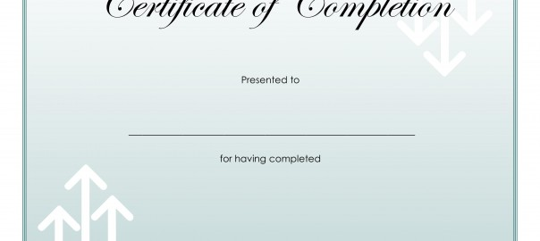 certificate completion medical terminology courses