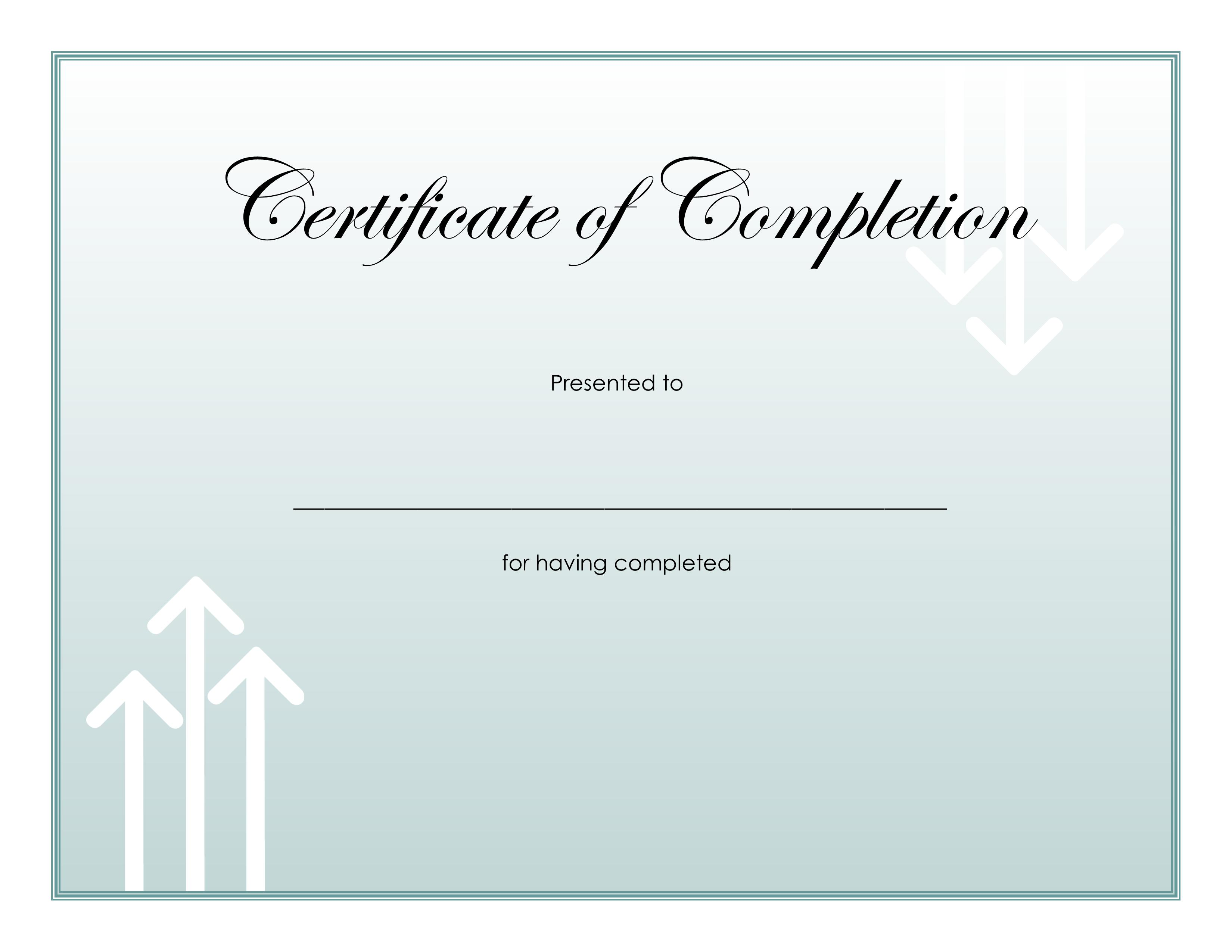 certificate completion medical terminology courses hiset